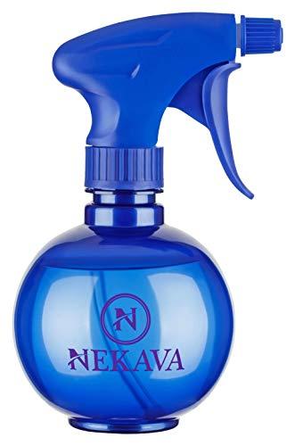 Nekava 350ml Sprühflasche klein aus hochwertigem Material mit patentierte verstellbare Düse, dient als Zerstäuber, Blumensprüher oder Spritzflasche