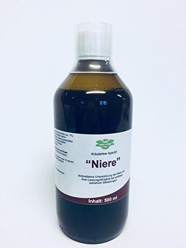 Nieren Tee Konzentrat zur Unterstützung der Nierenfunktion - Erhöhung der Leistungsbereitschaft - kann Nierenschmerzen lindern für ganzheitliches Wohlgefühl sorgen 500ml