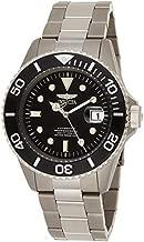 Invicta Men's Pro Diver Titanium Automatic Watch, Silver (Model: 0420)