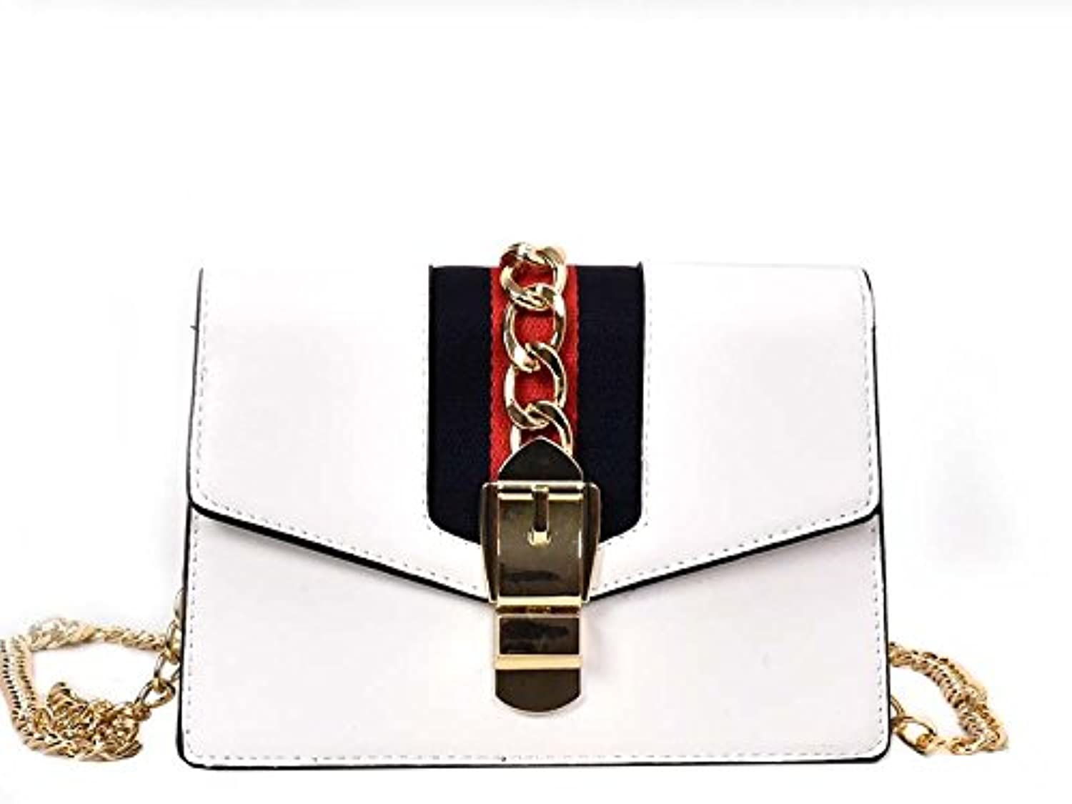 AI BAO Women's Classic Small Square Bag European and American Chain Clutch Bag Shoulder Diagonal Package