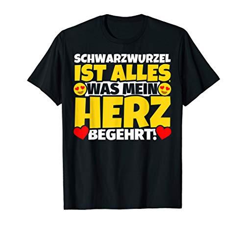 Schwarzwurzel Geschenke für Schwarzwurzel-Liebhaber T-Shirt