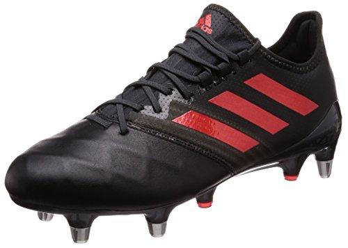 adidas Performance Mens Kakari Light Soft Ground Rugby Boots - Black - 13 US