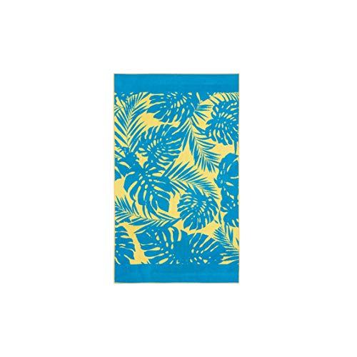 Barceló Hogar Toalla Playa Maui Terciopelo 100X170 Cms, 04 Amarillo, 100x170 cm
