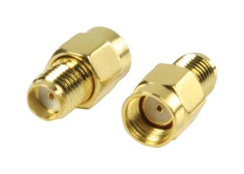 Valueline VLSP02111A Reverse Adapter (SMA Stecker auf Buchse) 2 Artikel