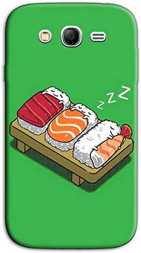 Mixroom - Cover Custodia per Samsung Galaxy Grand Neo I9060 (Plus) Case in TPU Silicone Morbida Fantasia Nigiri Sushi dormiglioni N1033