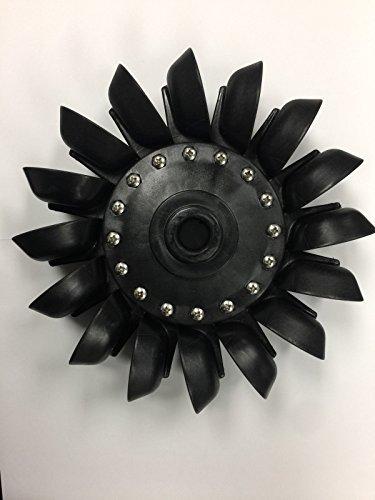 Pelton Water Wheel Turbine 8.25' (210 mm)
