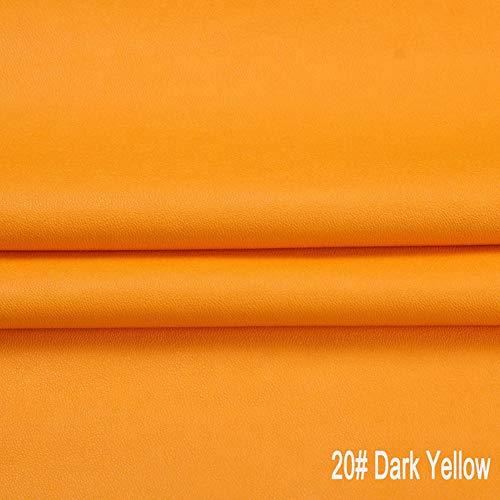 Kunstleder Weiches Kunstleder Vinyl Material Polsterstoff, for Handtaschen Brieftaschen Geldbörsen Nähen Basteln, Reparieren Dekorieren Ledersessel Sofa (Color : B)