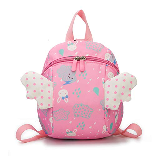 Bou Baby Backpack Toddler Safety Harness Anti lost Backpack Kids Cartoon Backpack Outdoor Travel Climbing Camping Sports Hiking Walking Pack Bag for Women Bookbag College Student Schoolbag Handbag
