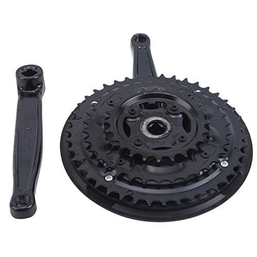Weiy Fahrradzahnräder, kleines dreiteiliges Kettenrad 42 Kettenrad Metall Kettenrad Mountain Mountain Wheel Plate,1