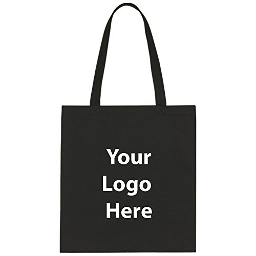 """Economy Tote Bag - 150 Quantity - $1.25 Each - Promotional Product/Bulk with Your Logo/Customized Size: 13-1/2""""W x 14""""H"""