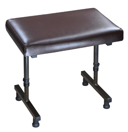 Aidapt Beaumont Reposapiernas, Negro (Black), Marrón (Brown), 385 x 500 x 310 mm, 4.2 Kg
