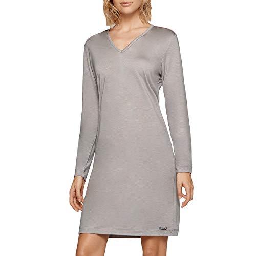 Impetus Travel Woman – Camisa de noche de Lyocell Travel Azul Soft Premium gris 40-42