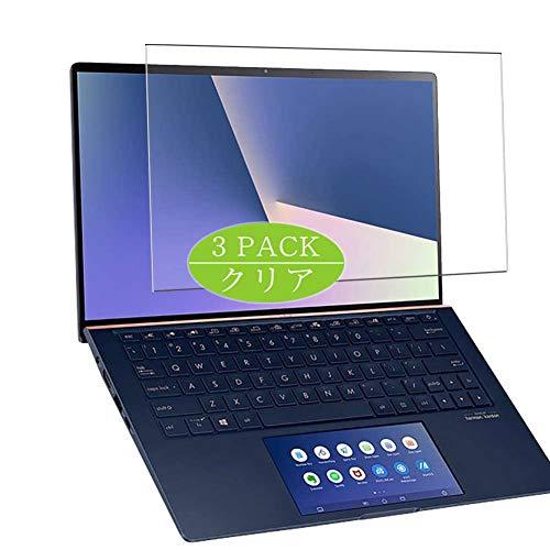 VacFun 3 Piezas Claro Protector de Pantalla, compatible con ASUS ZenBook 14 UX434FQ-AI116T 14', Screen Protector Película Protectora(Not Cristal Templado)
