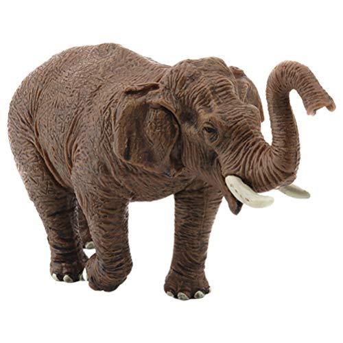 TOYANDONA Miniatuur Olifant Beeldjes Ornamenten Wild Model Kind Bos Partij Gunsten Voor Fee Tuintafel Home Decoraties