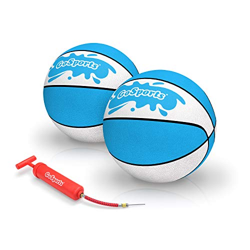 Sale!! GoSports Water Basketballs 2 Pack | Choose Between Size 3 and Size 6 | Great for Swimming Poo...