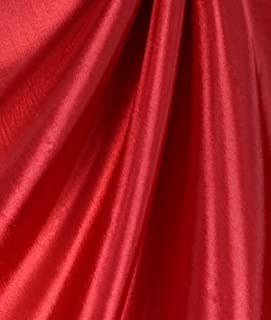 Red Taffeta Fabric - by the Yard