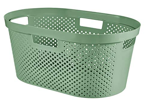 CURVER Infinity Recycled Cesta, Verde Bosque, 39