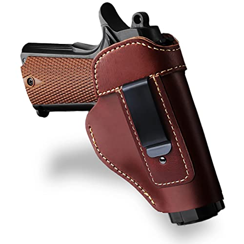 Seawolf Gun Holster Concealed Carry Leather Holster for...