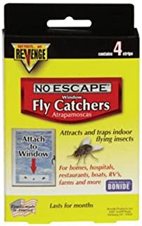 Revenge Window and Screen Fly Catcher (4 Pack) [Set of 24]