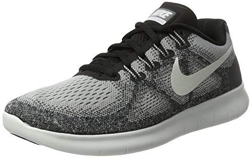 Nike Women's Free RN 2017 Running Shoe, Wolf Grey/Off White-Pure Platinum-Black (10)
