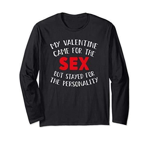 My Valentine Came For The Sex, Divertido día de San Valentín Manga Larga