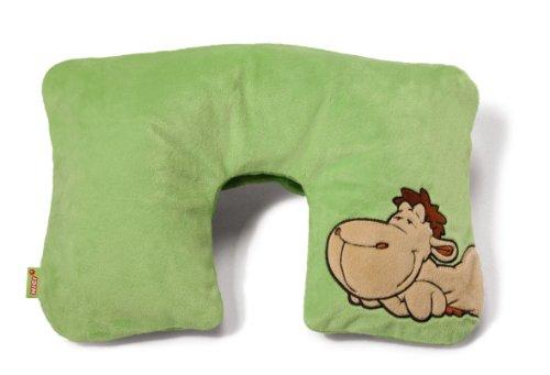 Nici 52056-700 - Reise Nackenkissen Motiv - Kamel, grün