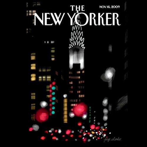 The New Yorker, November 16, 2009 (Seymour M. Hersh, Margaret Talbot, George Packer) audiobook cover art