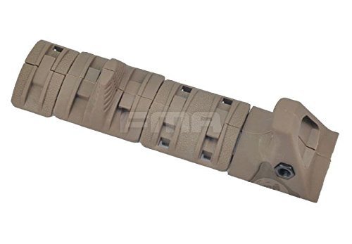 AIRSOFT AEG HANDGUARD HAND STOP RAIL COVER PANELS KIT SET RIS GRIP TAN DE XTM @ HELMET WORLD