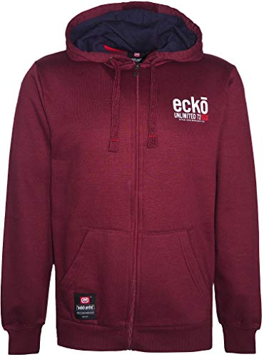 Ecko Unlimited - Sudadera de forro polar con capucha para hombre
