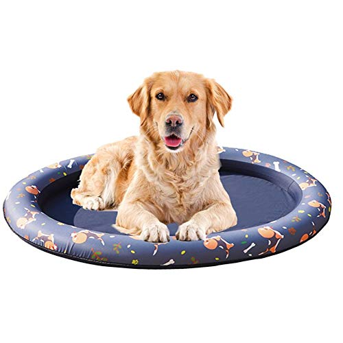 Dog Pool Float, Huisdier Hangmat Float Zwembad, Float Hangmat Opblaasbaar, Lente Zomer Zwemmen Ring 140 96cm