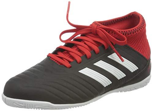 adidas Unisex Predator Tango 18.3 Indoor Futsalschuhe, Schwarz (Negbás/Ftwbla/Rojo 001), 36 EU