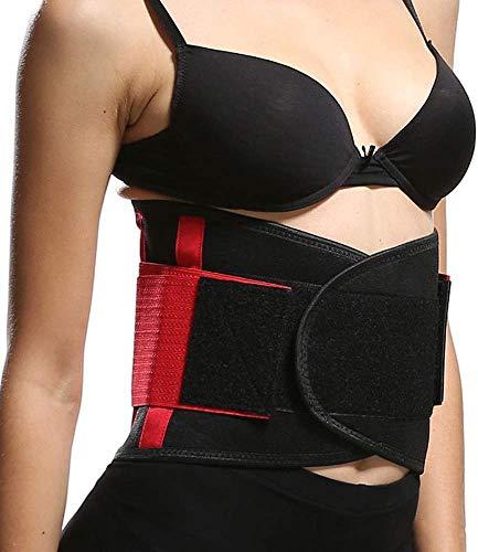 NOSSON Entrenador De Cintura para Mujeres, Cinturón De Ajuste De Cintura Slimmer Kit Envoltura De Pérdida De Peso, Espalda Baja Y Soporte Lumbar, El Mejor Cinturón De Entrenador Abdominal
