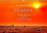 UGANDA - Murchison Falls Nationalpark (Wandkalender 2022 DIN A2 quer): Wunderbare Wildnis (Monatskalender, 14 Seiten )