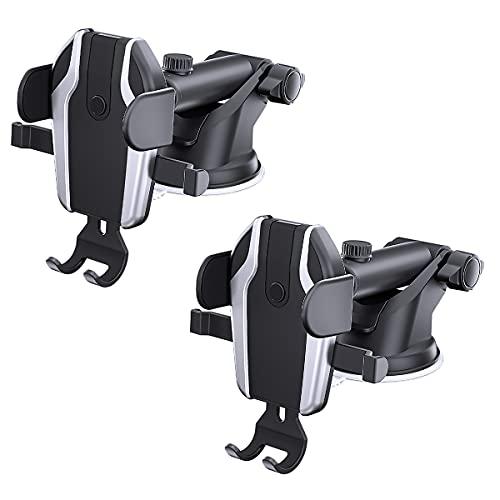 JZLPY Soporte Movil Coche para Parabrisas Ventosa Porta Movil Coche para Coche Car La Mayoría De Los Téléfonos Inteligentes
