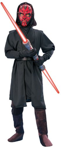 Disfraz de Darth Maul de Star Wars para niño de 8-10 años