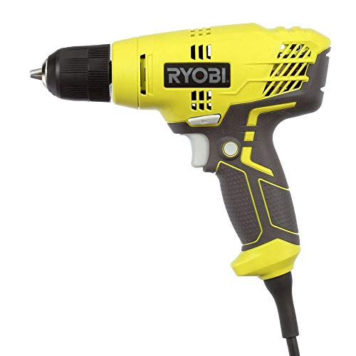"""commercial Ryobi ZRD43K 5.5 Amp 3/8 """" Variable Speed Drill (Updated) ryobi corded drill"""