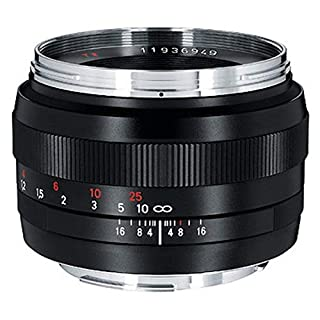 Zeiss Classic Planar ZE T 1.4/50 Standard Camera Lens for Canon EF-Mount SLR/DSLR Cameras, Black (1677817) (B001RL2OF0) | Amazon price tracker / tracking, Amazon price history charts, Amazon price watches, Amazon price drop alerts