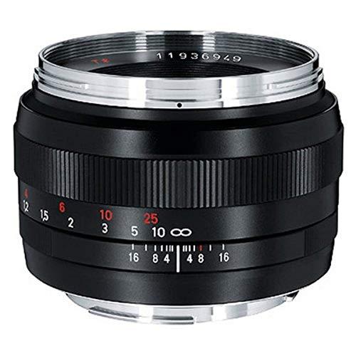 Zeiss Classic Planar ZE T 1.4/50 Standard Kameralinse für Canon EF-Mount SLR/DSLR Kameras, schwarz (1677817)