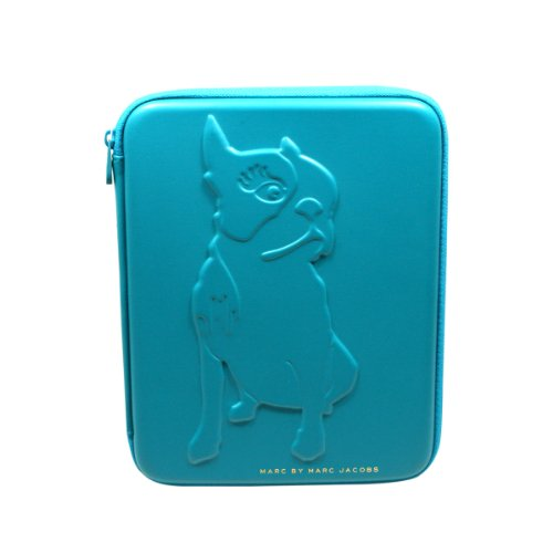 Marc by Marc Jacobs Painted Teal Ipad Case Ipad Sleeve For Apple Ipad 2, The New Ipad (blue) #M0001862