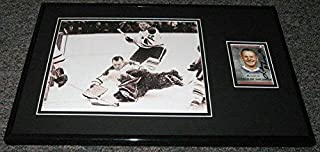 Signed Bower Picture - Framed 11x17 Display - Autographed NHL Photos