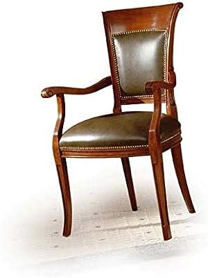 Estense – sillón de Oficina de Madera – Producto Artesanal ...