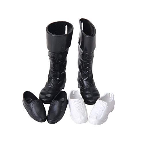 Zapatos de la muñeca cúspide zapatillas de deporte de los