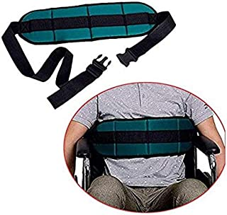 Padded Wheelchair Seatbelt by Fushida,Waist Protection Belt with Quick Release Buckle,Adjustable Bed Secure Harness for Disabled Seniors,Wheelchair Accessory Seat Belt(FYH279, Dark Green)