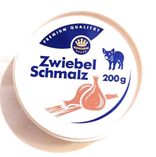 Kohlhase Zwiebel Schmalz vom Schwein 200 g in Premium Qualität