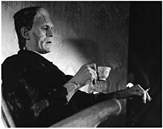 Even Monsters Need a Break Photograph Print Poster Frankenstein Movies 11×14