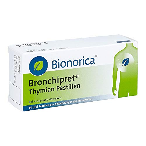 BRONCHIPRET Thymian Pastille 50 St