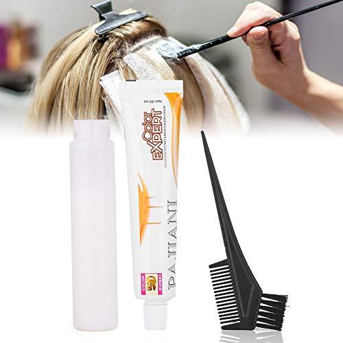 White Hair Dye, Hair Color Cream Dye White, 80ml/Piece Unisex Hair Whitening Cream Hair Dye Cream Bleaching Hairdressing Tool for Men Women