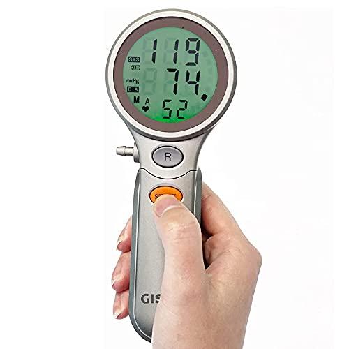 Gisinti Misuratore di Pressione Professionale Sfigmomanometro elettronico da braccio Misuratore di Pressione Apparecchio professionale Macchinetta completa di Bracciale Adulto 4 Pile e Istruzioni