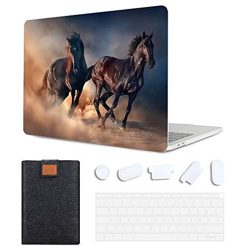 MAITTAO - Funda para MacBook Air 13 (modelo: A1369 / A1466), diseño de caballo