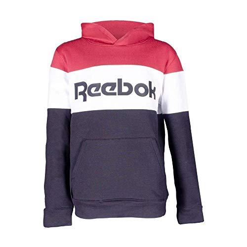Reebok Jungen Jersey Big Blocked Classic Sweatshirt, Schwarz, L